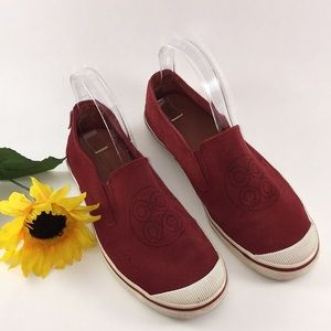 Coach Suede 'Katrina' Slip On Sneakers